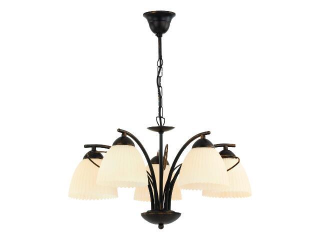 Lampa sufitowa LEONARDO 5xE27 60W 12796 Alfa