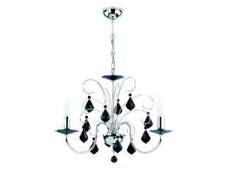 Lampa wisząca PALMIRA BLACK 3xE14 40W 13153 Alfa