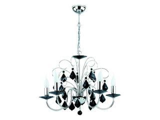 Lampa wisząca PALMIRA BLACK 5xE14 40W 13155 Alfa