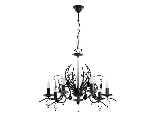 Lampa wisząca Mona Black 7xE14 40W 16127 Alfa