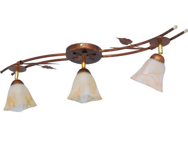 Lampa sufitowa Secesja 3xE14 60W K-742 Kaja