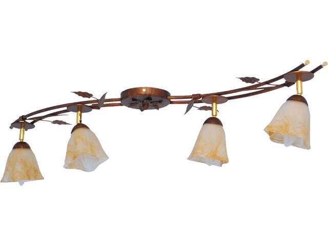 Lampa sufitowa Secesja 4xE14 60W K-743 Kaja