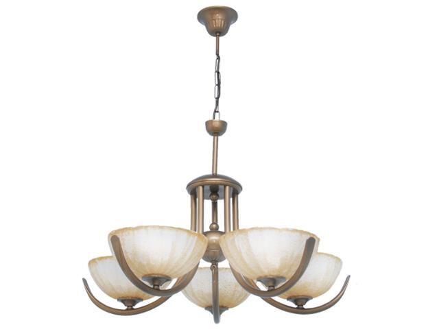 Lampa wisząca Amadeus 5xE27 60W K-1023 Kaja
