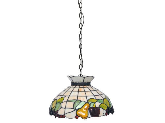 Lampa wisząca witrażowa Fruit 1xE27 60W K-P16550 Kaja
