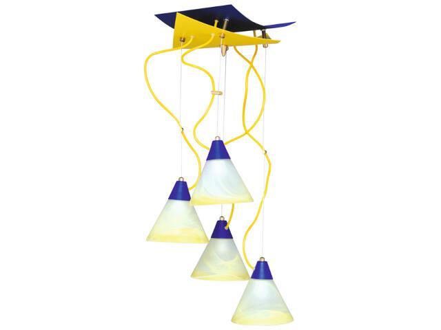 Lampa wisząca Doblo 4xE14 60W K-43 Kaja