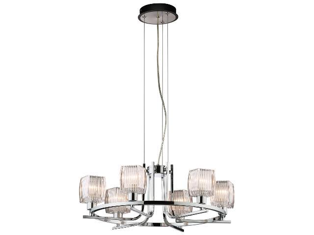 Lampa wisząca Milada 6xE14 40W K-MA02121C-6 Kaja