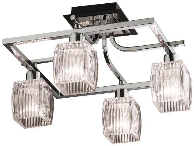 Lampa sufitowa Milada 4xE14 40W K-MA02121CB-4 Kaja