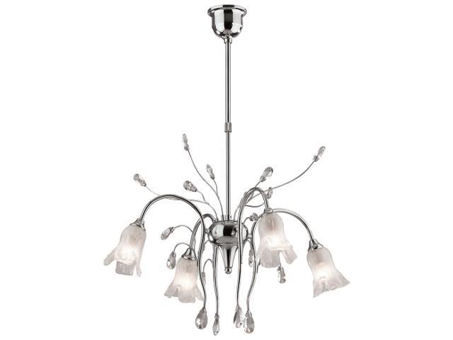 Lampa wisząca Gizela 4xE14 40W K-MA02009C-4 Kaja