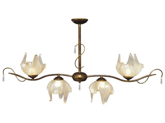 Lampa wisząca Pietra 4xE27 60W K-2052 Kaja