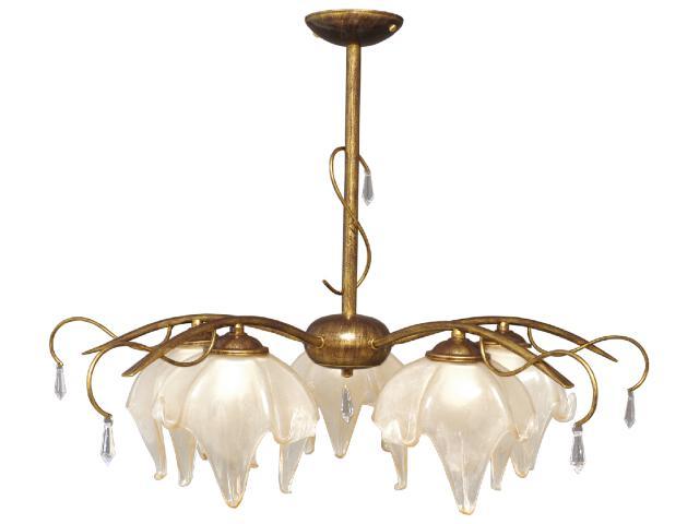 Lampa wisząca Pietra 5xE27 60W K-2053 Kaja