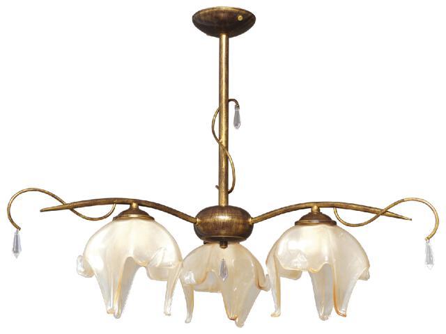 Lampa wisząca Pietra 3xE27 60W K-2051 Kaja
