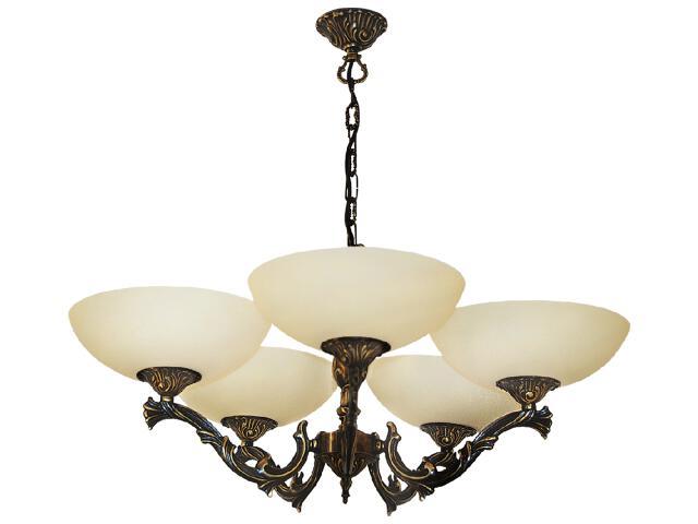 Lampa wisząca Lux 5xE27 60W K-1461 Kaja