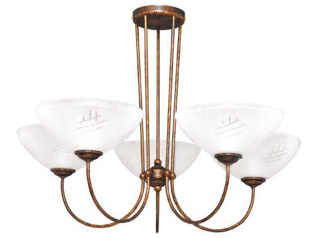 Lampa wisząca Franko 5xE27 60W K-1792 Kaja