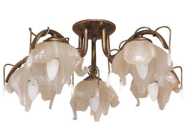 Lampa sufitowa Fiore 5xE27 60W K-1437 Kaja