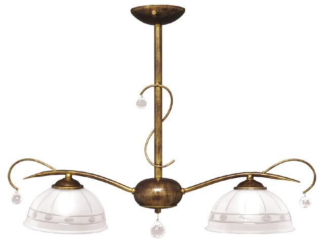 Lampa wisząca Hermes 2xE27 60W K-2061 Kaja