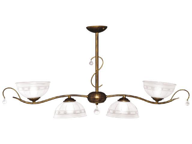 Lampa wisząca Hermes 4xE27 60W K-2063 Kaja