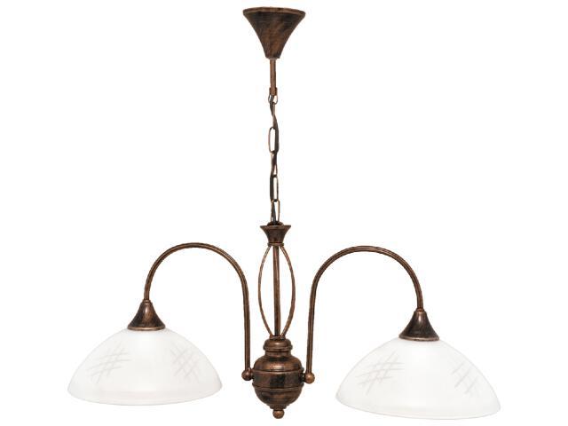Lampa wisząca Dorothy 2xE27 60W K-1751 Kaja