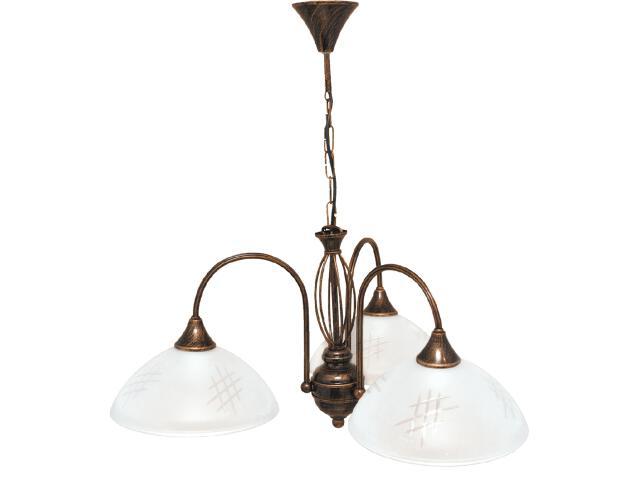 Lampa wisząca Dorothy 3xE27 60W K-1752 Kaja