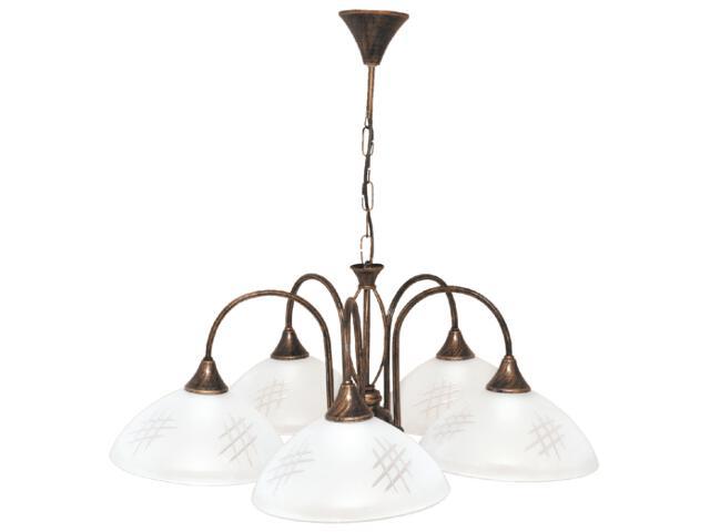 Lampa wisząca Dorothy 5xE27 60W K-1753 Kaja