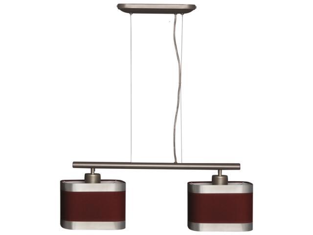 Lampa wisząca Selene II 2xE27 60W K-2161 CZER Kaja