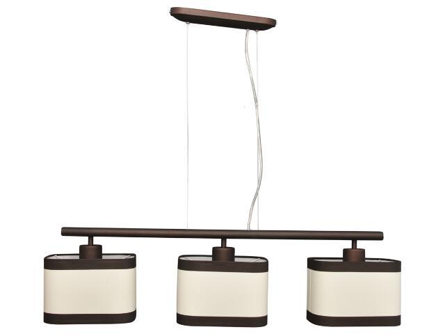 Lampa wisząca Selene 3xE27 60W K-2162 BRĄZ Kaja