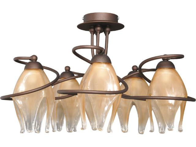 Lampa wisząca Davi 5xE14 60W K-2307 Kaja