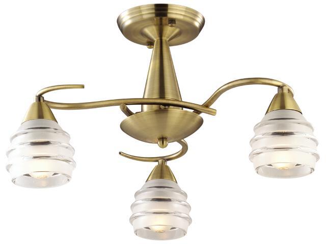 Lampa wisząca Leona 3xE14 40W K-MA03812C-3AB Kaja