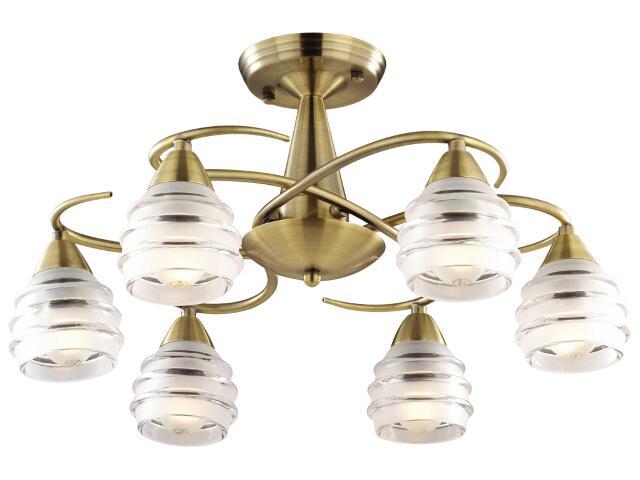 Lampa wisząca Leona 6xE14 40W K-MA03812C-6AB Kaja