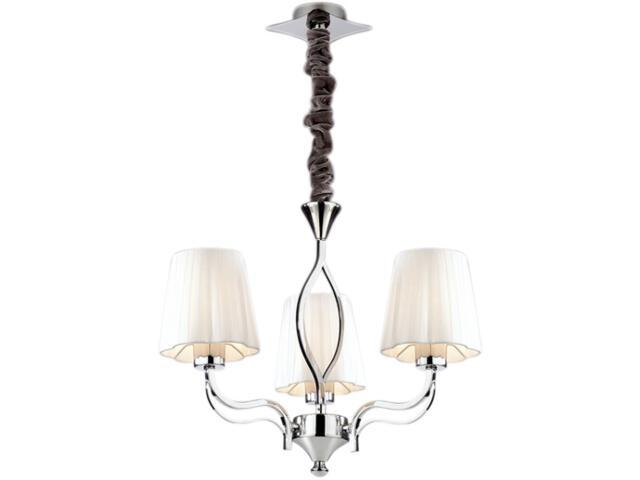 Lampa wisząca Bianca 3xE14 40W K-MA03869C-3 Kaja