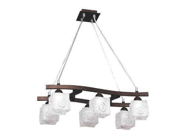 Lampa wisząca Libra 6xE14 60W K-2443 Kaja