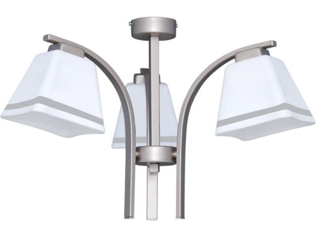 Lampa wisząca Neva Silver 3xE27 60W K-2755 Kaja