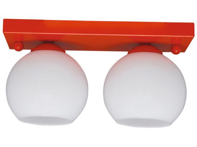 Lampa sufitowa Red 2xE27 60W K-2521 Kaja