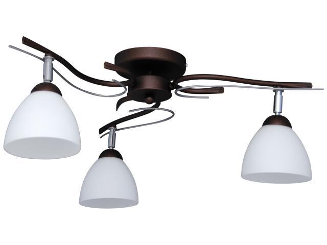 Lampa sufitowa Mono 3xE27 60W K-2781 Kaja