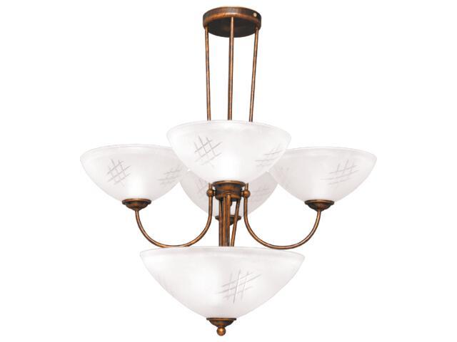 Lampa wisząca Franko 7xE27 60W K-1793 Kaja
