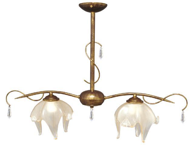 Lampa wisząca Pietra 2xE27 60W K-2050 Kaja
