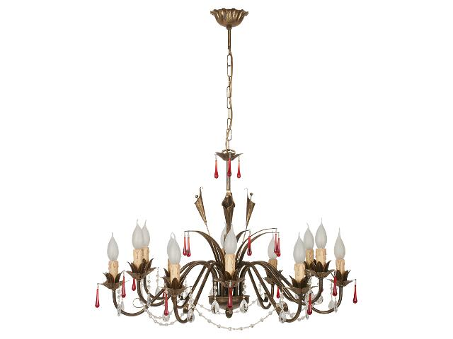 Lampa sufitowa WIKI brązowa XII 1223 Nowodvorski