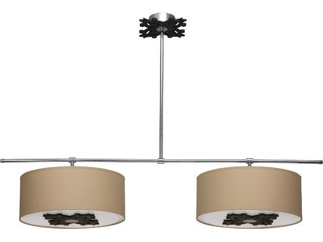 Lampa sufitowa VERONA brązowa IV 3608 Nowodvorski
