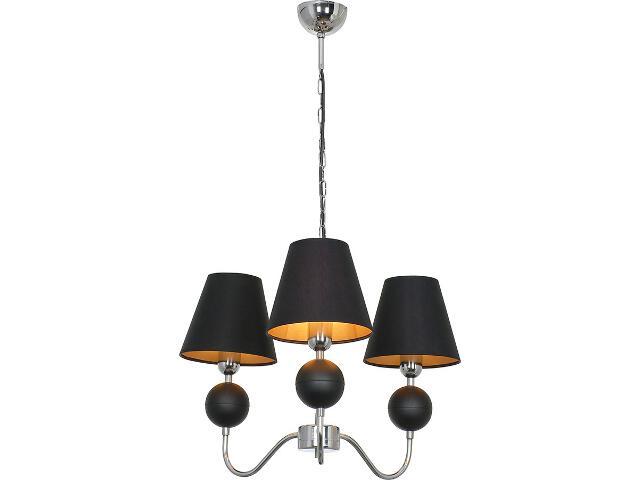 Lampa wisząca NATHALIE czarna III 4513 Nowodvorski