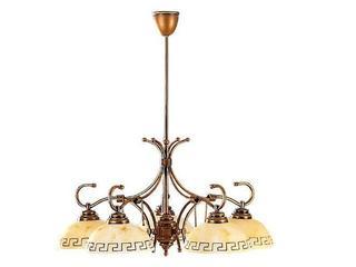 Lampa sufitowa GRECKI 5xE27 60W 040B/F Aldex