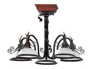 Lampa wisząca GRUBA RURA 5xE27 60W 076A/F Aldex