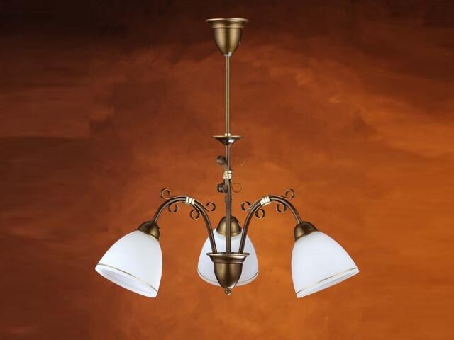 Lampa wisząca OLIWKA 3xE27 60W 367E Aldex