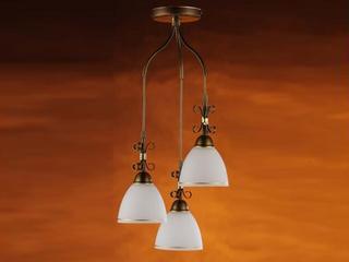Lampa wisząca OLIWKA 3xE27 60W 367G3 Aldex