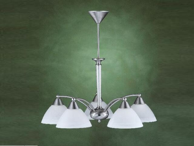 Lampa wisząca SILVER 5xE27 369F Aldex