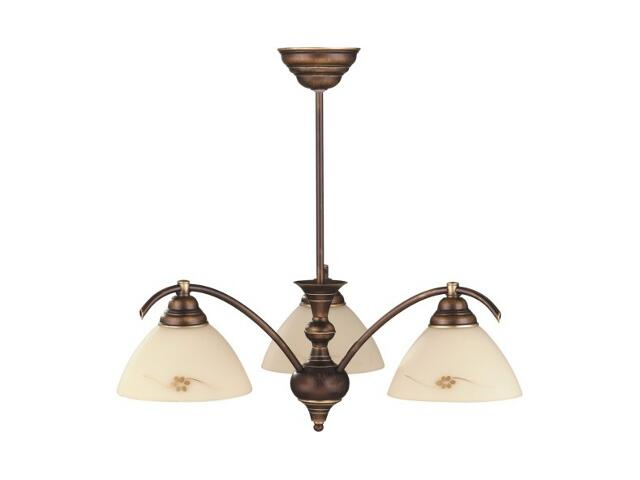 Lampa wisząca HIT 3xE27 60W 377E Aldex