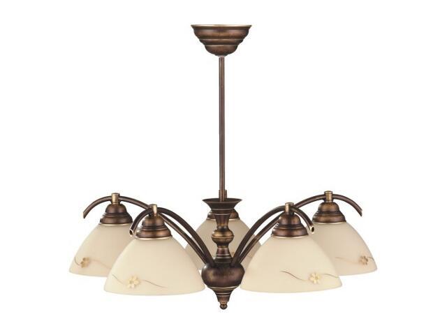 Lampa wisząca HIT 5xE27 60W 377F Aldex