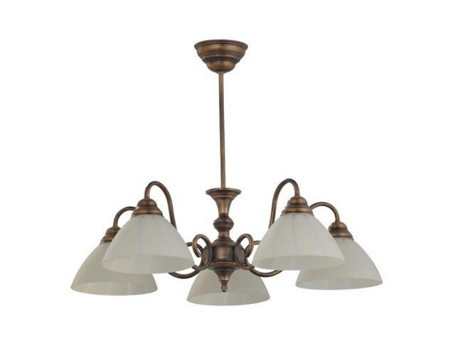 Lampa wisząca KACPER 5xE27 60W 378F Aldex