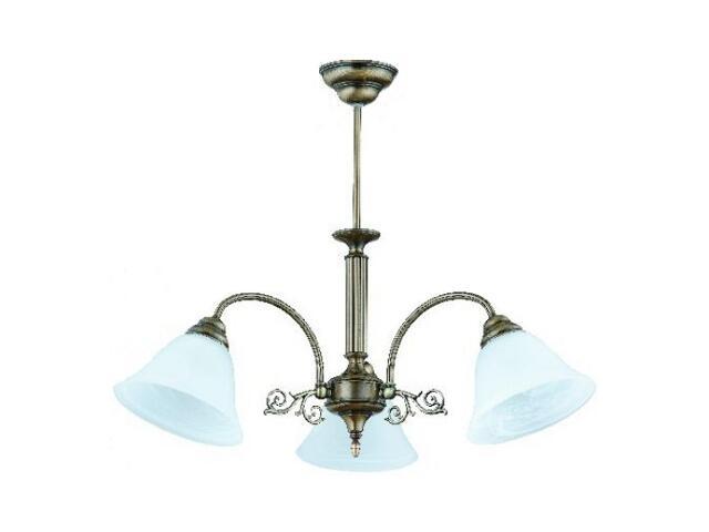 Lampa wisząca PATYNA IV 3xE27 60W 381E Aldex