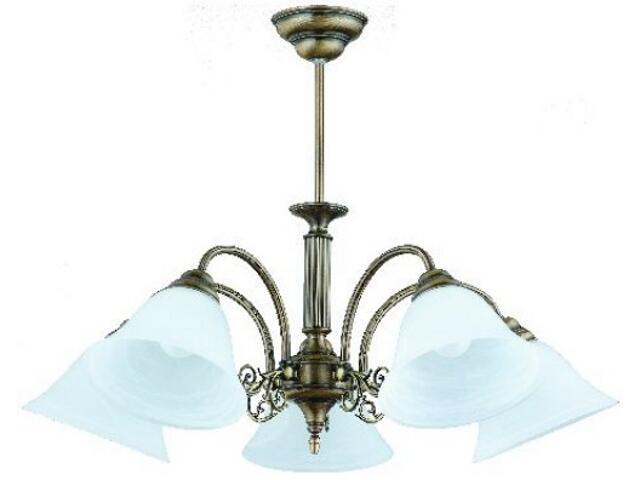 Lampa wisząca PATYNA IV 5xE27 60W 381F Aldex