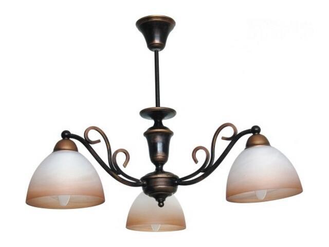 Lampa wisząca ORZECH 3xE27 60W 384E Aldex