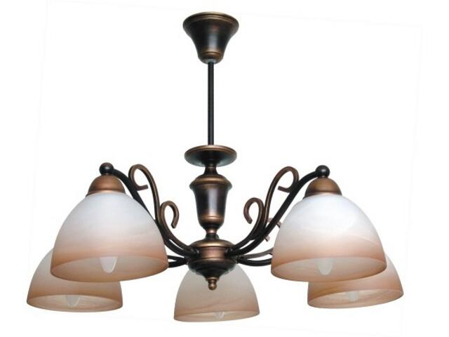 Lampa wisząca ORZECH 5xE27 60W 384F Aldex